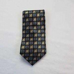 Pierre Cardin Men's Classic Silk Tie Geometric